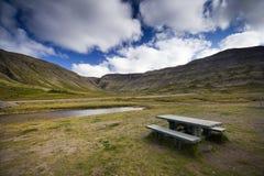 Пейзаж Исландии Стоковые Изображения RF
