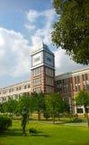 Пейзаж кампуса Стоковые Изображения RF