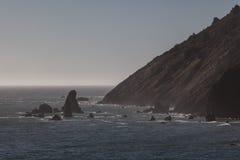 Пейзаж 2 Калифорнии прибрежный Стоковое Фото