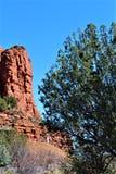 Пейзаж ландшафта, межгосударственные 17, Феникс к Флагстафф, Аризона, С стоковая фотография