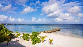 Пейзаж Мальдивов Стоковые Фото