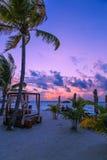 Пейзаж Мальдивов Стоковое Фото
