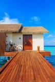 Пейзаж Мальдивов Стоковое Изображение RF
