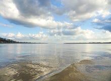 Пейзаж Меконга реки стоковое изображение