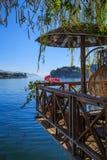 Пейзаж озера на Cangshan Стоковое Изображение