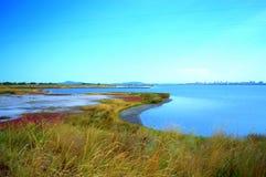 Пейзаж озера сол Стоковые Изображения RF