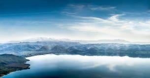 Пейзаж озера Стоковая Фотография