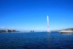 пейзаж озера Стоковое Изображение