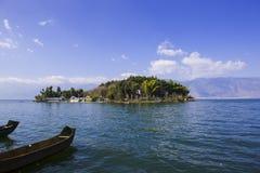 Пейзаж озера Erhai Стоковая Фотография RF
