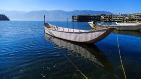 Пейзаж озера erhai Стоковые Изображения RF