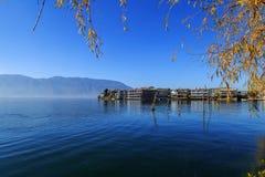 Пейзаж озера erhai Стоковые Фото