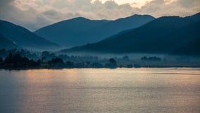 Пейзаж озера Lugu Стоковое Фото