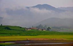 Пейзаж около Рекы Songhua Стоковые Изображения RF