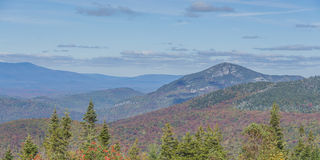 Пейзаж осени горы Whiteface стоковые изображения