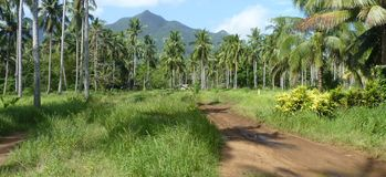 Пейзаж острова Юго-Восточной Азии стоковое фото