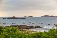Пейзаж острова Putian Meizhou Стоковое Изображение RF
