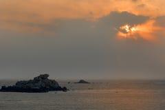 Пейзаж острова Putian Meizhou Стоковая Фотография