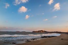 Пейзаж острова Putian Meizhou Стоковая Фотография RF