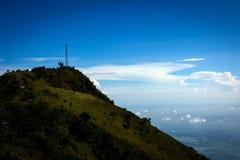 Пейзаж от горы Индонезии Стоковые Фотографии RF