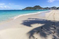 Пейзаж от St Martin, карибского острова Стоковые Фотографии RF
