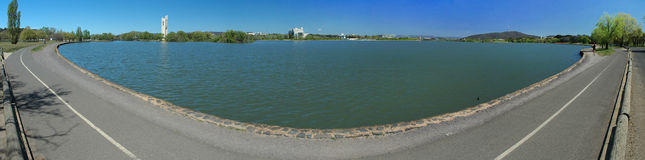 пейзаж панорамы canberra Стоковая Фотография
