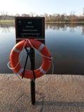 Пейзаж парка Лондона Стоковые Изображения RF