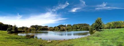 Пейзаж парка Стоковое Изображение RF