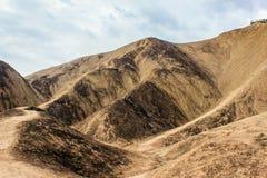 Пейзаж парка danxia Zhang ye геологохимический Стоковое Изображение RF