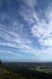 пейзаж парка douglas mt Стоковые Изображения