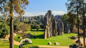 Пейзаж парка Shilin Стоковое Изображение