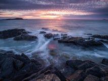 Пейзаж побережья Стоковые Изображения RF