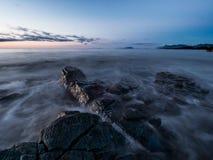 Пейзаж побережья Стоковое Изображение