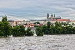 Пейзаж Праги стоковая фотография rf