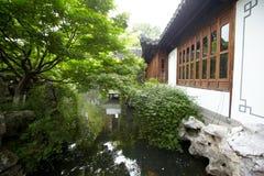 Пейзаж природного парка, Ханчжоу Стоковые Изображения