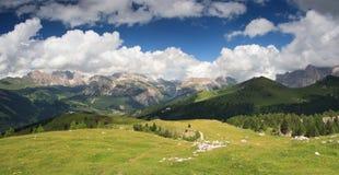 Пейзаж природы - доломиты Стоковые Изображения RF