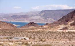 пейзаж пустыни Стоковое фото RF
