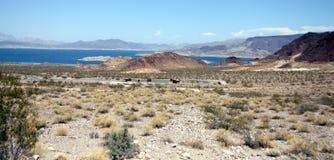 пейзаж пустыни Стоковая Фотография