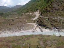 пейзаж реки бортовой Стоковое фото RF