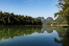 Пейзаж реки Стоковые Фото