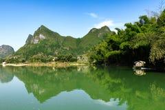 Пейзаж реки Стоковая Фотография RF