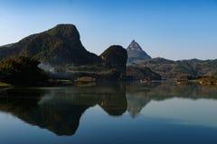 Пейзаж реки Стоковое Изображение