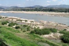 Пейзаж реки Mae Khong Стоковое Изображение
