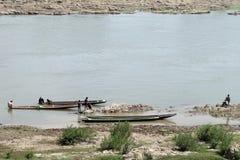 Пейзаж реки Mae Khong Стоковое Изображение RF