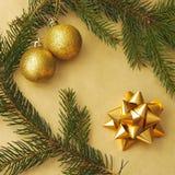 Пейзаж рождества Стоковая Фотография RF