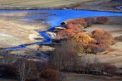 Пейзаж северного Китая стоковое фото rf
