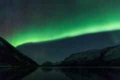 Пейзаж северного сияния Стоковая Фотография RF