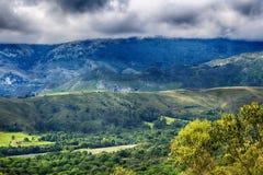 Пейзаж скалистых гор в Испании Стоковая Фотография RF