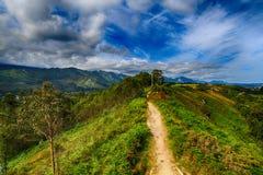 Пейзаж скалистых гор в Испании Стоковые Изображения RF