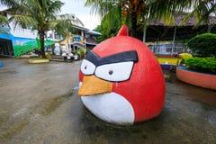 Пейзаж счастливого тематического парка Dreamland в острове Boracay Стоковое Изображение RF