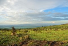 Пейзаж Танзании, Африка стоковая фотография